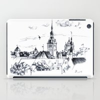 medieval iPad Cases featuring Medieval landscape. by LaDa