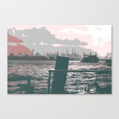 Hamburg docks Canvas Print