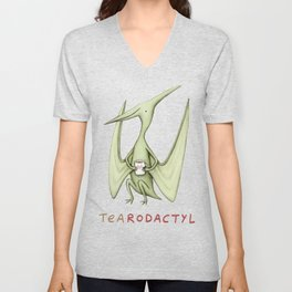 Tearodactyl Unisex V-Neck