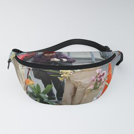 Caution - Orchid Crossing Fanny Pack