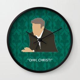 The Lying Detective - Greg Lestrade Wall Clock