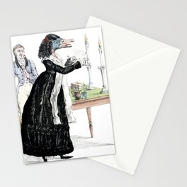 A Downright Gabbler Stationery Cards