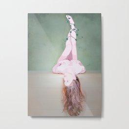 the ballerina mermaid Metal Print
