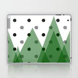 Christmas mountains Laptop & iPad Skin
