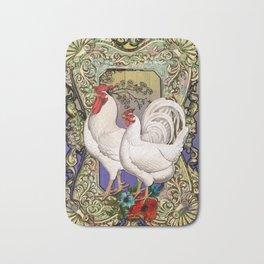 Provencal cock 3 Bath Mat