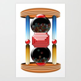 candy time Art Print