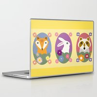 woodland Laptop & iPad Skins featuring Woodland by LeaLea Rose