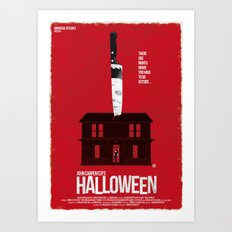 Halloween (Red Collection) Art Print