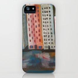 Wet city iPhone Case