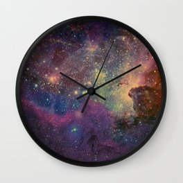univers abstrait Wall Clock