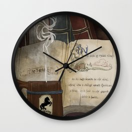 There and Back Wall Clock