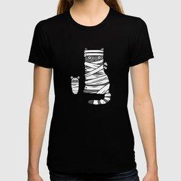 Mummy Cat & Mummy Mouse – Silent Horror T-shirt