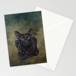 Cat Painting 16 Stationery Cards
