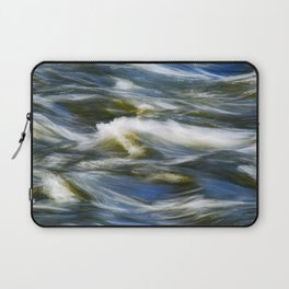 Waves Abstract Laptop Sleeve
