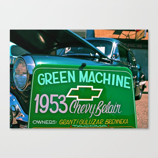 Green Machine Canvas Print