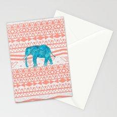 Elephant Blues Stationery Cards