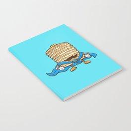 Captain Pancake's Mustache Notebook