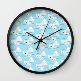 Polar Bears Inuka & Sheeba I Wall Clock