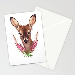 Fireweed Deer Stationery Cards