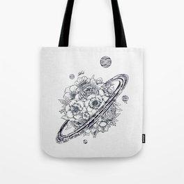 Flowery Planet. Tote Bag