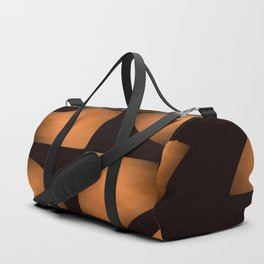 Copper Chips on Black Background #decor #society6 #buyart Duffle Bag