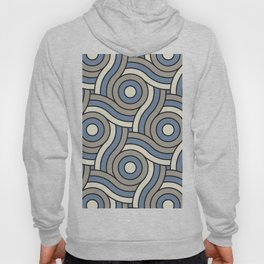 Circle Swirl Pattern Ever Classic Gray 32-24, Dusk Sky Blue 27-23, and Dove White 33-6 Hoody