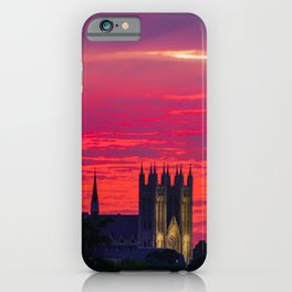 Guelph Glowing Sunset iPhone Case