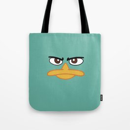 Perry the Platypus Tote Bag