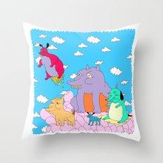 los peches Throw Pillow