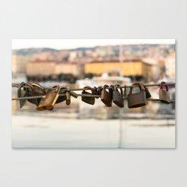 Unlock The Coast Canvas Print