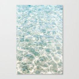 Clear Blue Water Crete, Greece   Fine Art Travel Photograpy Print  Canvas Print