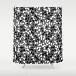Ghost Wisp Shower Curtain