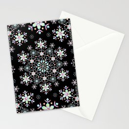 Snowflake Lace Stationery Cards