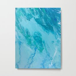 AMResin - Beachin' Metal Print
