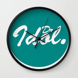 Kush Letter I Block  Wall Clock