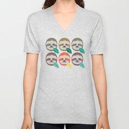 The Slothful Ones II Unisex V-Neck