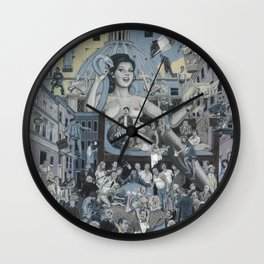 Edwige Wall Clock