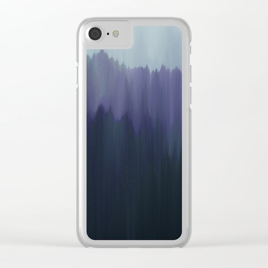 Cold Night Clear iPhone Case