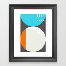 Spot Slice 01 Framed Art Print