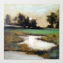 Marshland in Wilmington, North Carolina Canvas Print