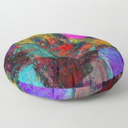 Abstract OMEGA Floor Pillow