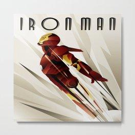 iron,man Metal Print