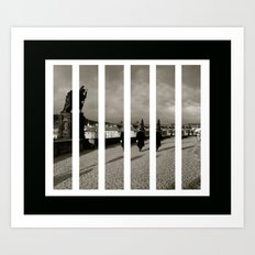 St Charles Bridge Art Print