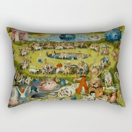 "Hieronymus Bosch ""Garden of Earthly Delights"" Rectangular Pillow"