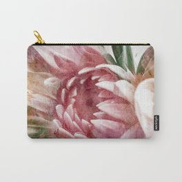 watercolor flower 3 Carry-All Pouch