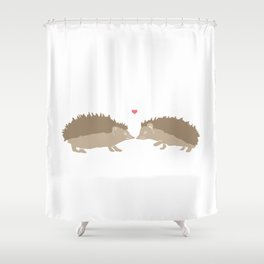 I Miss Your Hedge Hugs Shower Curtain
