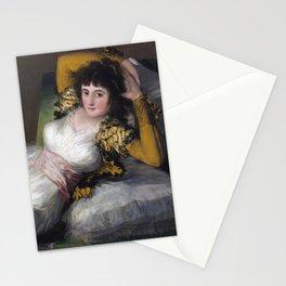 Francisco Goya - The Clothed Maja Stationery Cards