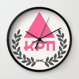 Commie Pinko Fag: Family Crest Wall Clock