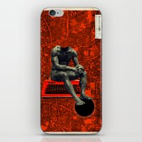 boxer iPhone & iPod Skins featuring Boxer by Frank Moth