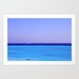 Nice: Mediterranean Sea Art Print